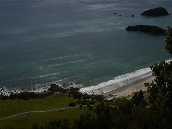 Mount Maunganui Summit Track: Mount Maunganui beach and base trail from track