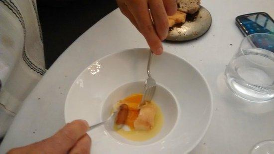 El Club Allard : Huevo con pan