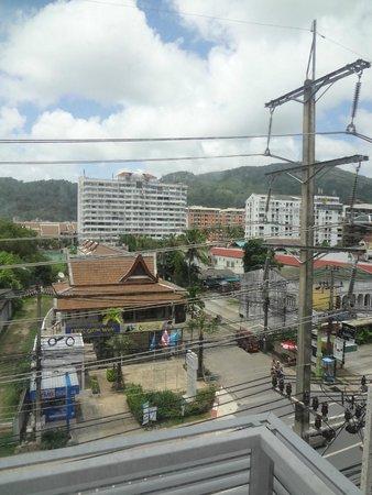 Red Planet Patong, Phuket: vue de la chambre
