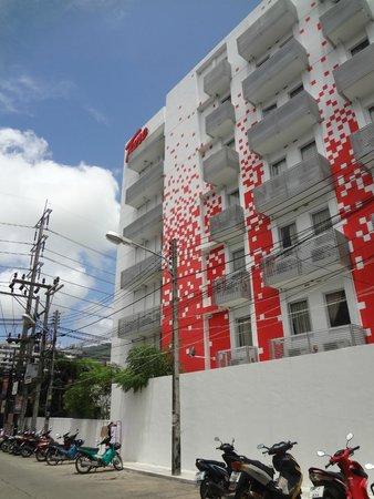 Red Planet Patong, Phuket: l'hotel vu de l'exterieur