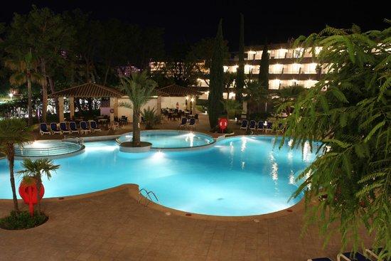 Aparthotel Rosa del Mar: Вид из номера на бассейн
