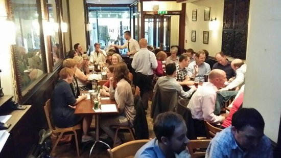 Quiz night at The Punch Tavern every Tuesday.