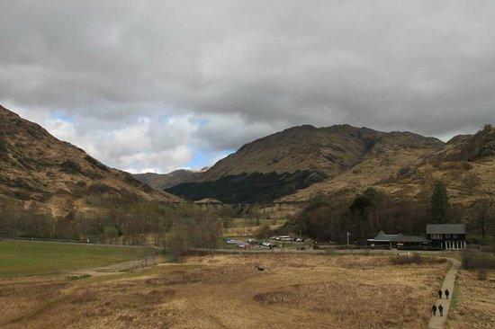 Glenfinnan Monument: Вид с монумента