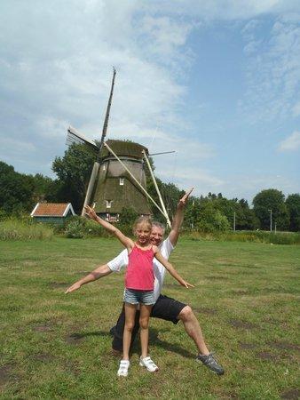Mike's Bike Tours & Rentals: Human windmill - thanks Karl
