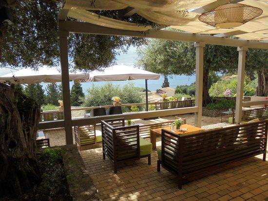 Aeolos Beach Resort : bar de la piscine
