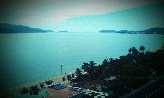 Havana Nha Trang Hotel: Cloudy day