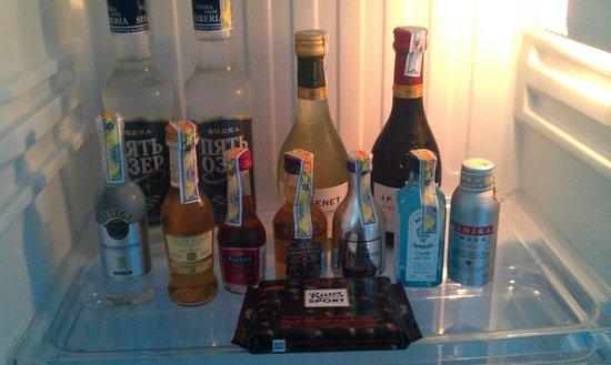 Havana Nha Trang Hotel: The exceptionally overpriced in-room minibar.