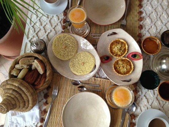 palacio de las especias: Desayuno