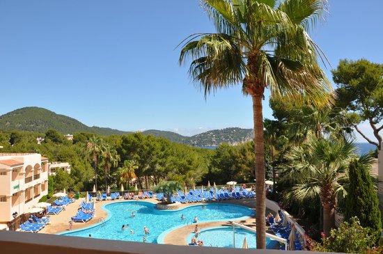 Invisa Hotel Club Cala Blanca : Vu de la chambre