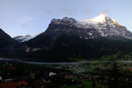 Belvedere Swiss Quality Hotel: Mt.Eiger.