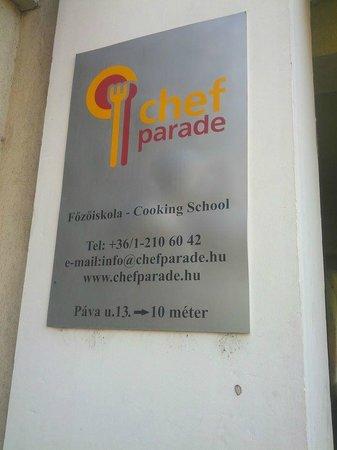 Chefparade Cooking School : locandina