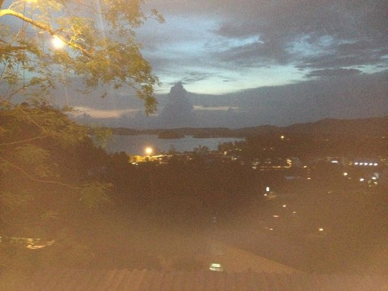 Evening view from Lae Lay Grill
