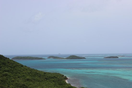 Tobago Cays seen from Mayreau