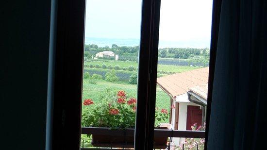B&B 7 Vizi: Vista desde la Habitación con balcón