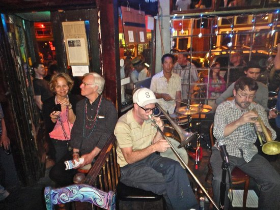 The Spotted Cat Music Club: People having a great time at The Spotted Cat