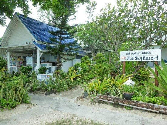 P.P. Blue Sky Resort: Reception