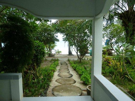 P.P. Blue Sky Resort: View from standing on veranda