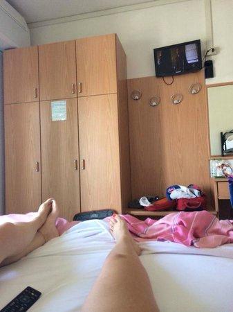 Pensione da Liviano: Camera da 4 persone (1 letto matrimoniale + 1 letto a castello)
