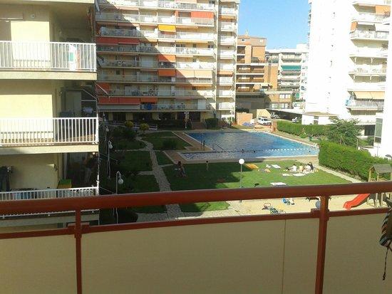 Sumus Hotel Monteplaya: вид с балкона