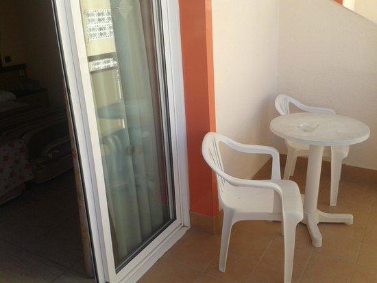 Sumus Hotel Monteplaya: балкон