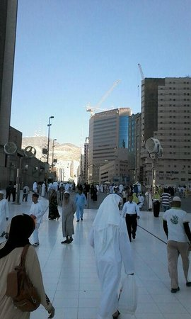 Le Meridien Makkah : View from Haram