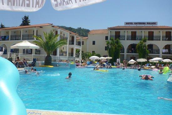 Katerina Palace Hotel : Hotel Pool