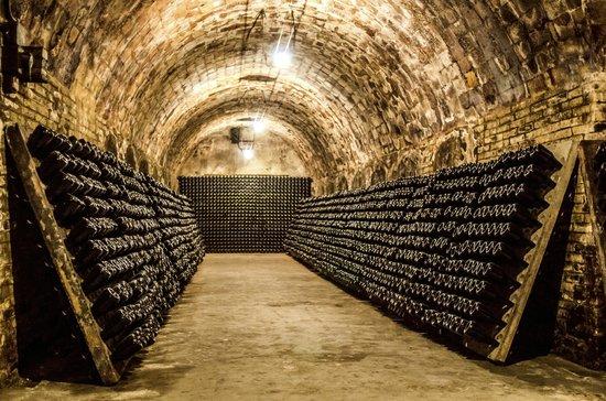 PARISCityVISION: Champagne cellar