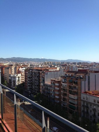 Catalonia Atenas Hotel : Вид с крыши