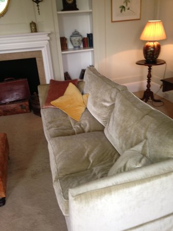 The Manor: cushions not plumped