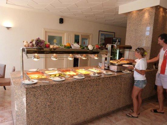 Blue Bay Hotel: Buffet