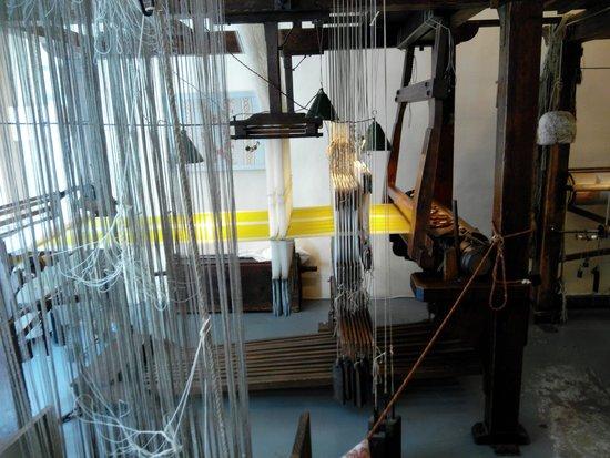 Maison des Canuts: dettaglio filati