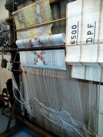 Maison des Canuts: tessuto