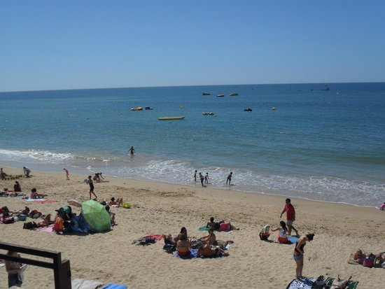 Praia da Oura: A praia