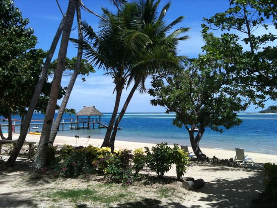 Malolo Island Resort: View from our verandah