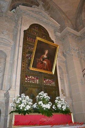 Duomo di Siracusa - particolare della cappella di S.Lucia