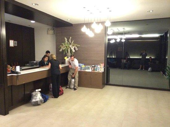 Simplitel Hotel: Reception