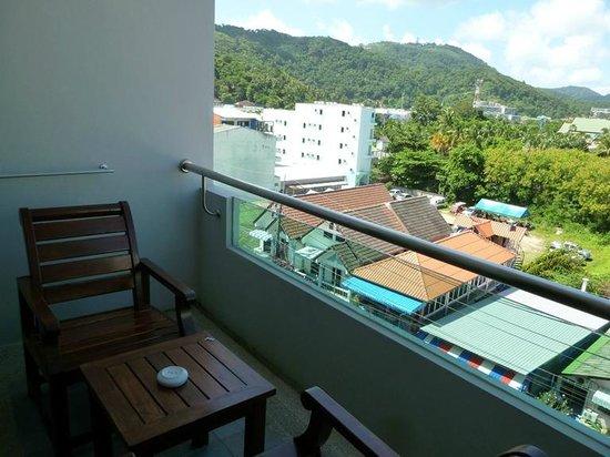 Simplitel Hotel: Balcony view