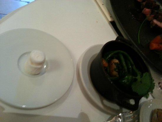 Les Cèdres : les plats