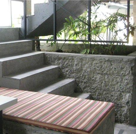Heyha dormtel: Treppe zu den Zimmern :)