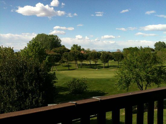 Hotel Golf Inn: vista campo