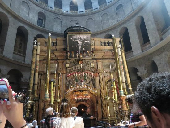 Church of the Holy Sepulchre: The Aedifice at a distance
