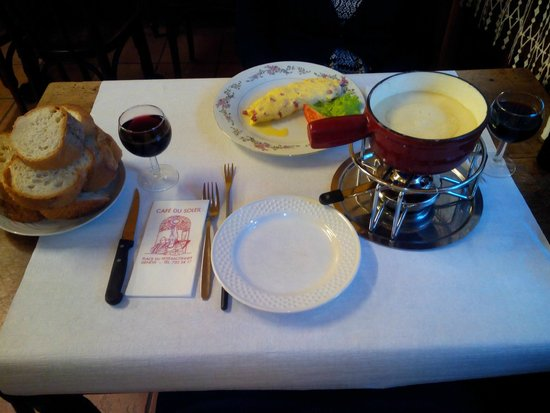 Cafe du Soleil: cena