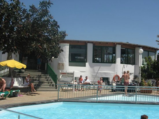 La Penita Apartments : Pool bar