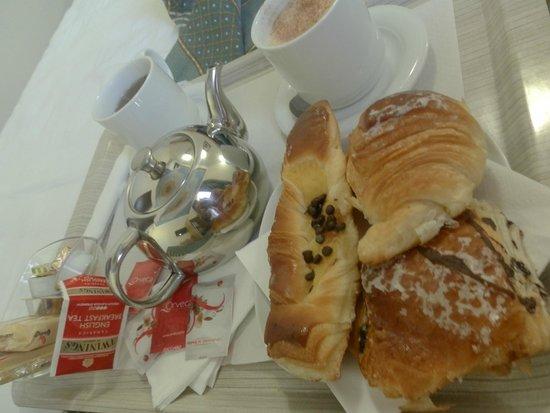 Auditorium di Mecenate: sniadanie