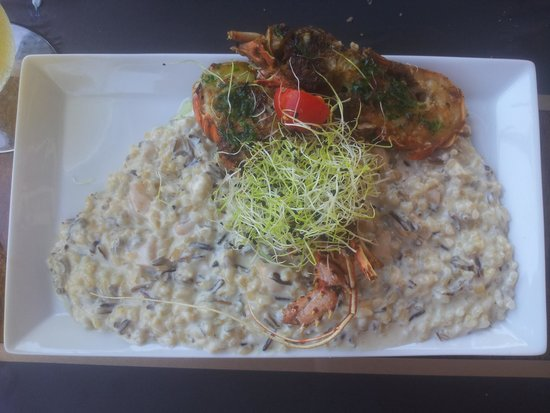 So Caprichos: seafood risotto
