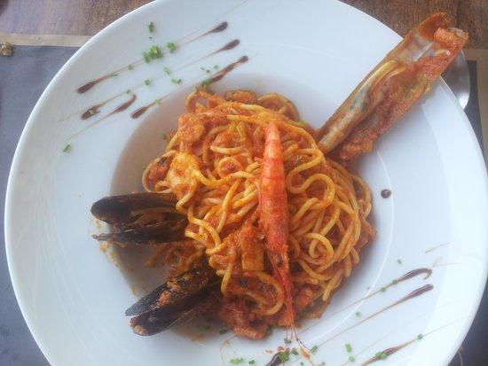 So Caprichos: spaghetti frutti di mare