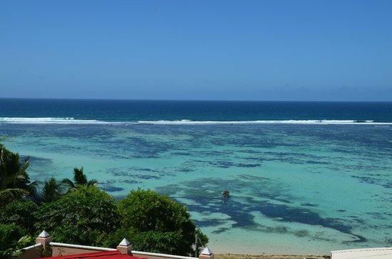 Au Fond de Mer View : Blick auf Anse Royal