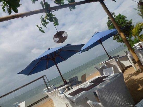 Toro Toro Beach Restaurant: テーブルからの景色
