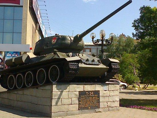 Barnaul, Russland: Легендарная 34-ка