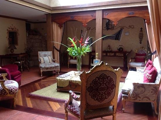 Morenica del Rosario Hotel: First floor rest area